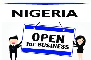 Gnó a sa Nigéir: Nigerian government welcomes foreign direct investment and foreign portfolio investment. Foreign investors are treated the same way as local investors under Nigeria's laws and the ranking for the ease of doing business in Nigeria has improved significantly as a result of policy reforms implemented by the Nigerian government.